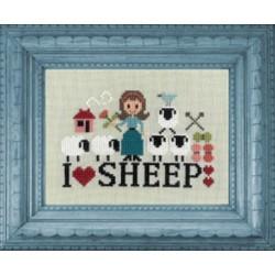 I love sheep - Jardin privé