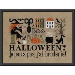 Halloween ? Je peux pas, j'ai broderie - Jardin Privé