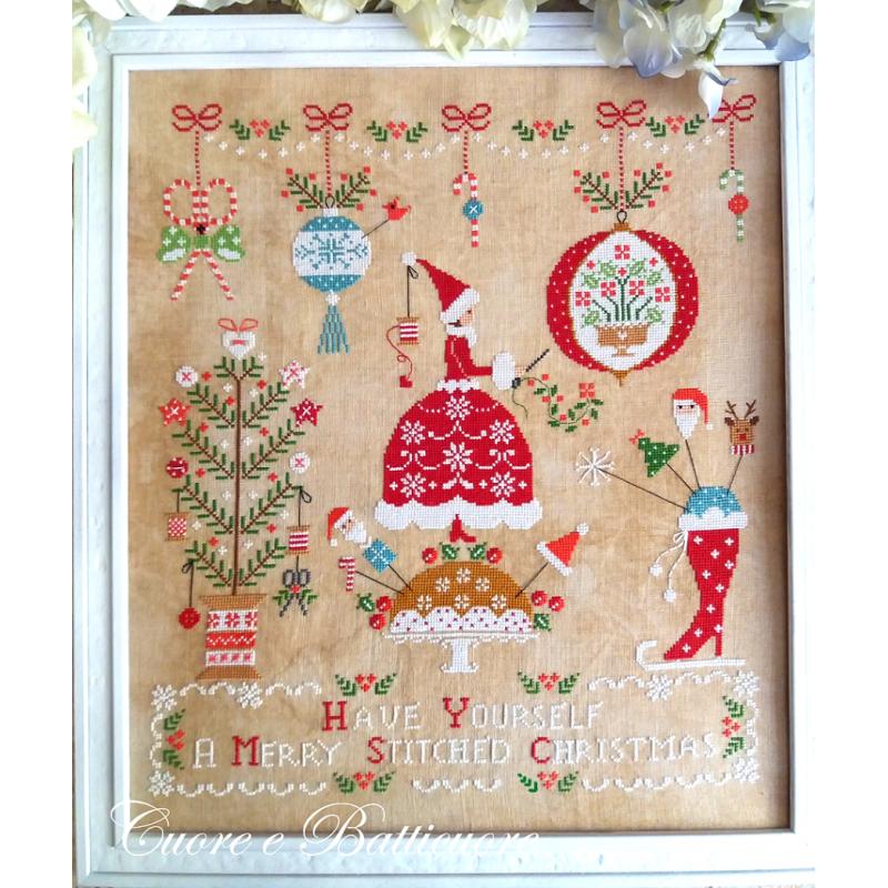 Natale Ricamato - Cuore e Batticuore