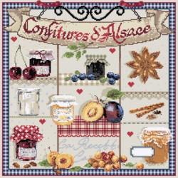 Confitures d'Alsace - Madame la fée