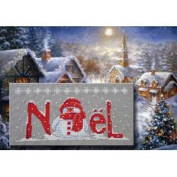 Noël blanc - Au fil de Martine