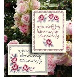 Abc aux roses - Au fil de Martine
