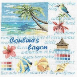 Couleurs lagon - Au fil de Martine