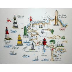 Les phares bretons - Au fil de Martine