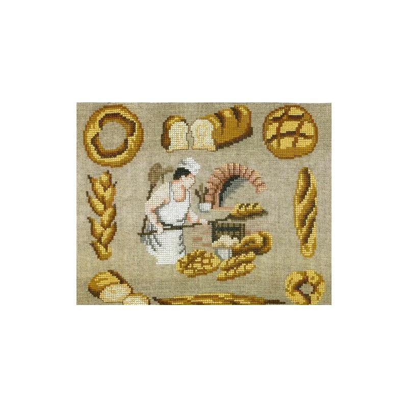 Le boulanger - Au fil de Martine