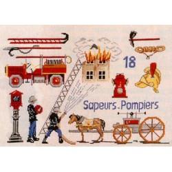 Les pompiers - Au fil de Martine