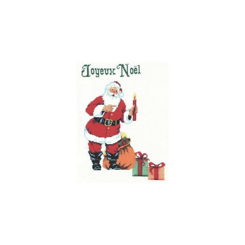 Le Père Noël et ses cadeaux - Au fil de Martine