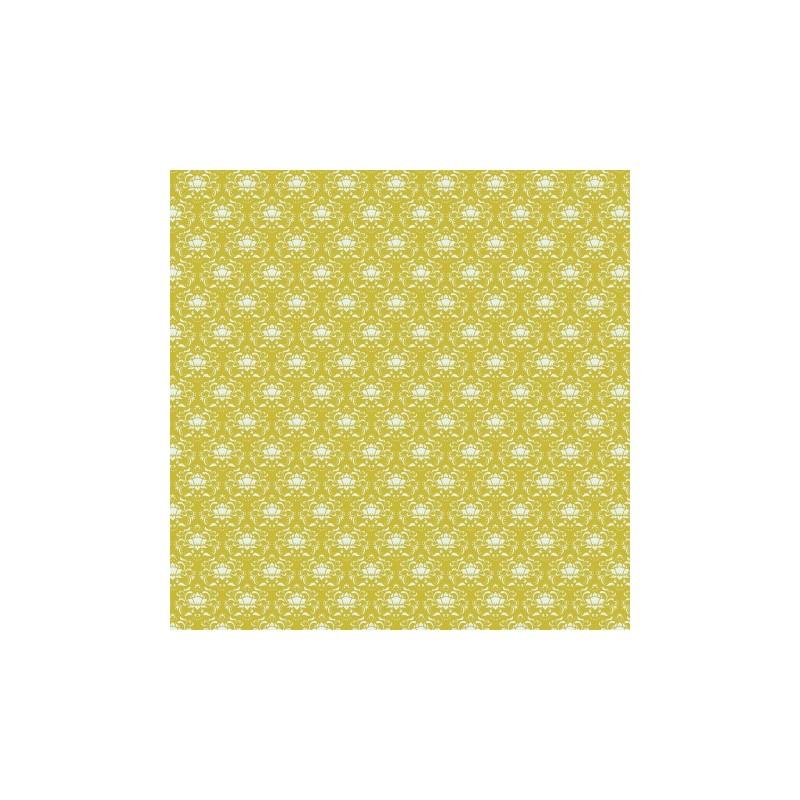 Ornament Green - coupon 50x140cm - tissu Tilda