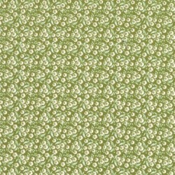 Forget Me Not Green - coupon 50x55cm - tissu Tilda