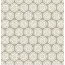Olivia Grey - coupon 50x55cm - tissu Tilda