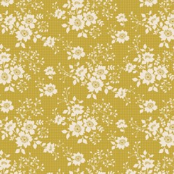 Libby Olive - coupon 35x50cm - tissu Tilda