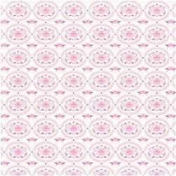 Lily Pink - coupon 35x50cm - tissu Tilda