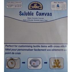 Canevas soluble DMC 20x22cm