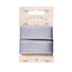 Ruban Seams Blue Grey - Tilda