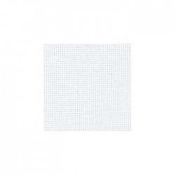 Toile Aïda Zweigart 5,4fils/cm - largeur 110cm - blanc