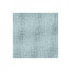 Toile Aïda Zweigart 5,4fils/cm - largeur 110cm - gris souris