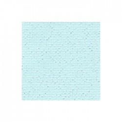 Aïda Zweigart 5,4pts/cm - largeur 110cm - bleu pailleté