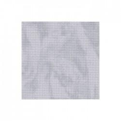 Toile Aïda Zweigart 5,4fils/cm - largeur 110cm - gris marbré