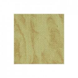 Toile Aïda Zweigart 5,4fils/cm - largeur 110cm - sable marbré