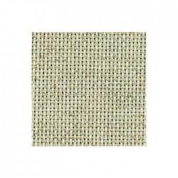 Toile Aïda Zweigart 5,4fils/cm - largeur 110cm - lin chiné