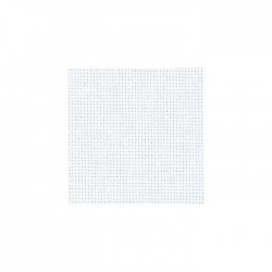 Aïda Zweigart 5,4pts/cm - 50x55cm - blanc