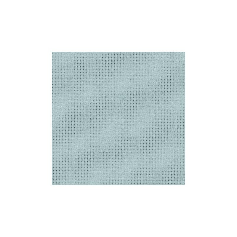 Aïda Zweigart 5,4pts/cm - 50x55cm - gris souris