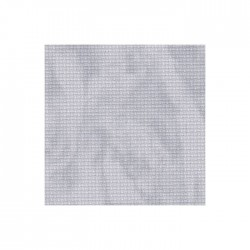 Aïda Zweigart 5,4pts/cm - 35x45cm - gris marbré