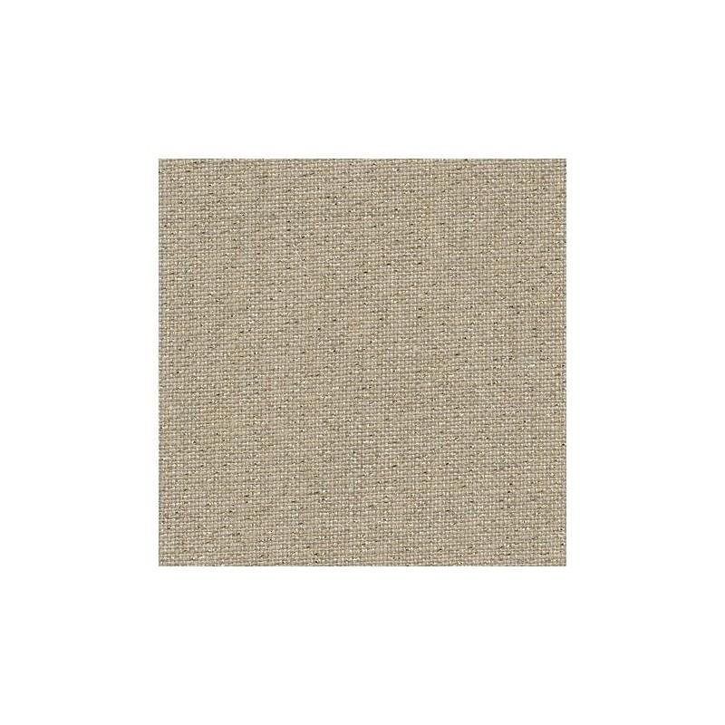 Lin Zweigart Belfast 12,6fils/cm - largeur 140cm - lin naturel pailleté doré