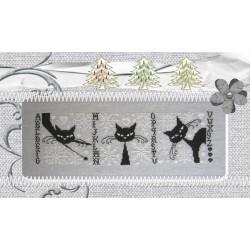 Les Psycho Cat's aiment la neige ! - Isabelle Haccourt Vautier