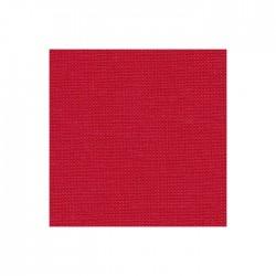 Lin Zweigart Belfast 12,6fils/cm - largeur 140cm - rouge