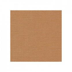 Lin Zweigart Belfast 12,6fils/cm - largeur 140cm - caramel