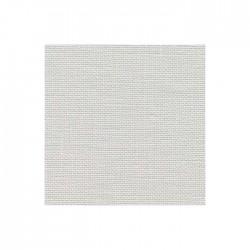 Lin Zweigart Belfast 12,6fils/cm - largeur 140cm - gris blanchi