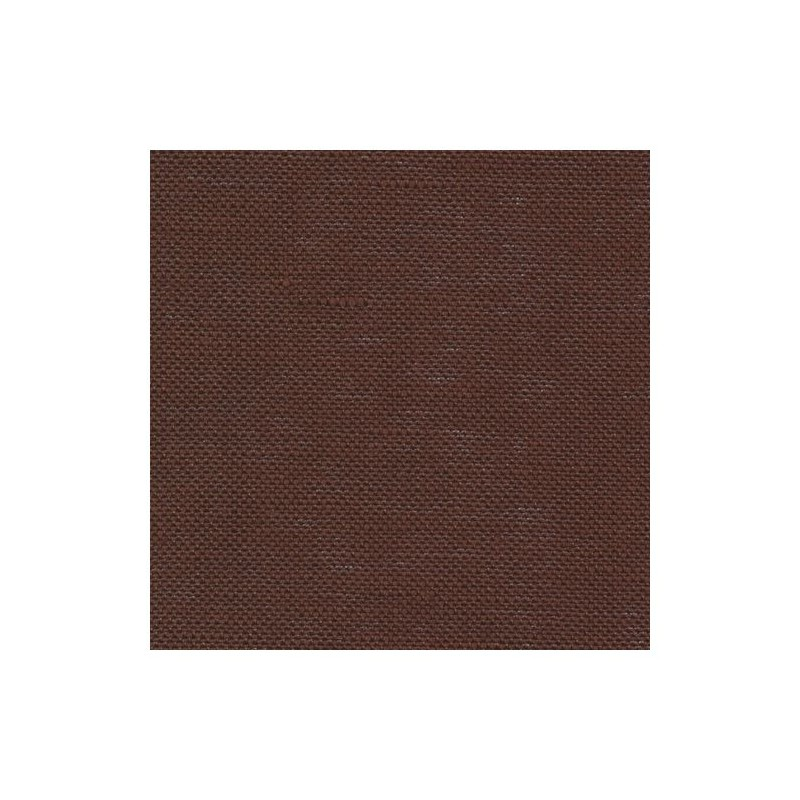 Lin Zweigart Belfast 12,6fils/cm - largeur 140cm - chocolat