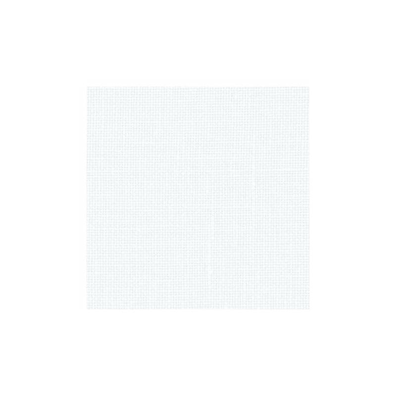 Lin Zweigart Belfast 12,6fils/cm - 50x70cm - blanc