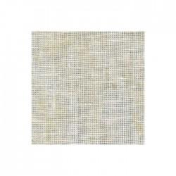 Lin Zweigart Belfast 12,6fils/cm - largeur 140cm - jaune marbré