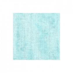 Lin Zweigart Belfast 12,6fils/cm - largeur 140cm - bleu ciel marbré
