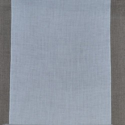 Bande de lin blanc Zweigart 12 fils/cm largeur 19,5cm