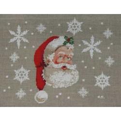 Les flocons du Père Noël - Au fil de Martine