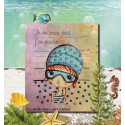 J'ai piscine - Isabelle Haccourt Vautier