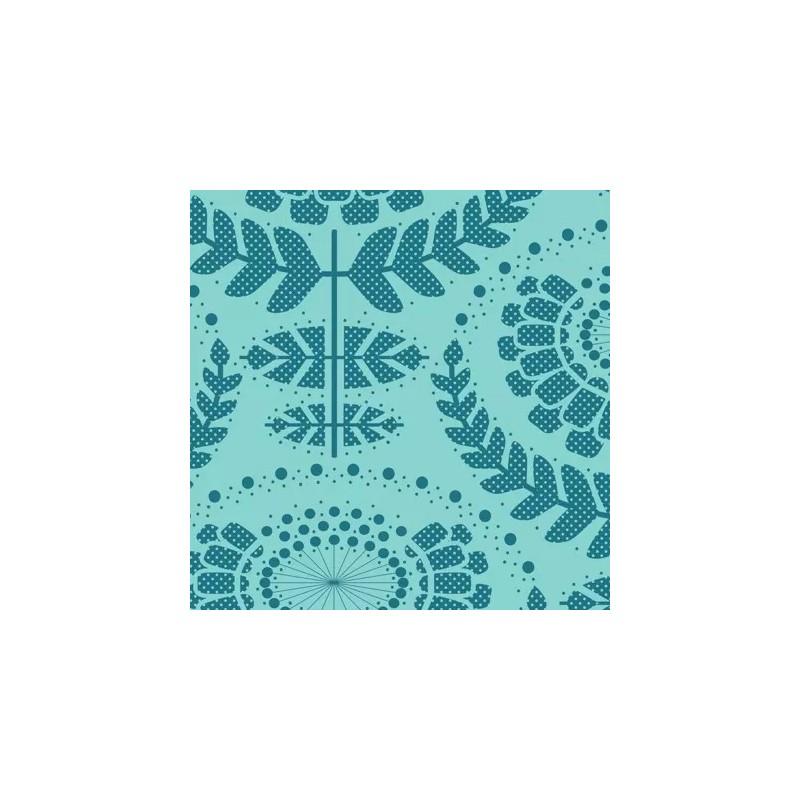 Phoebe Emerald - coupon 50x110cm - tissu Tilda