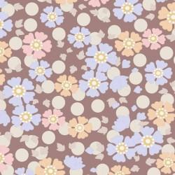 Windflower Nutmeg - coupon 50x110cm - tissu Tilda