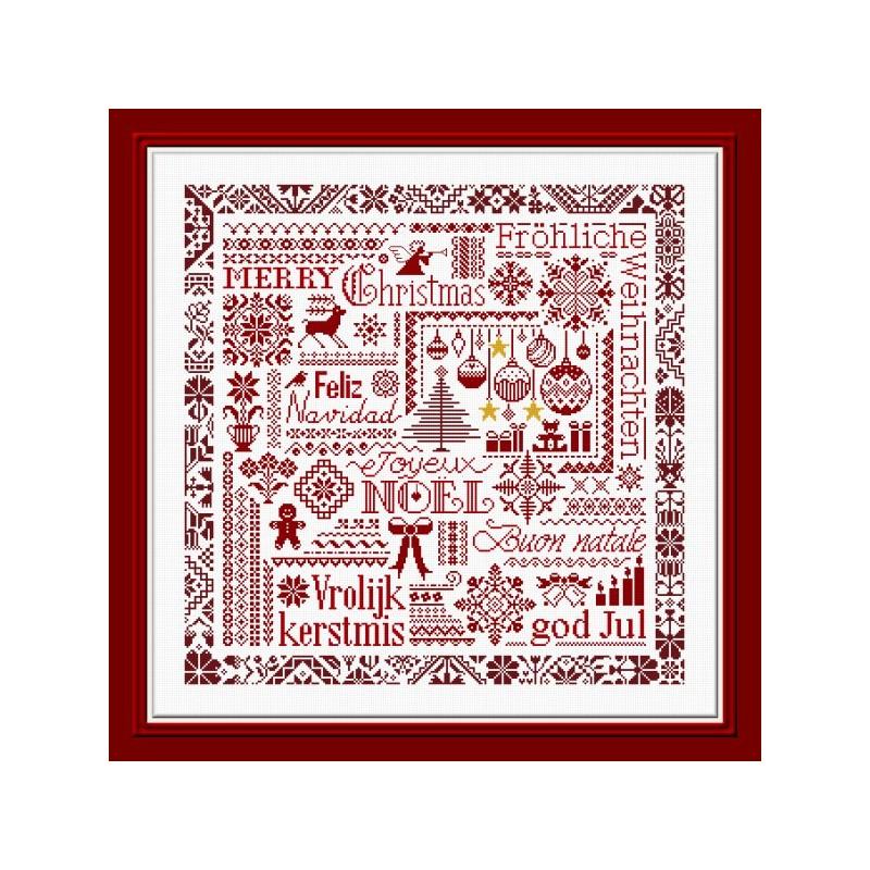 Red Christmas - Jardin privé