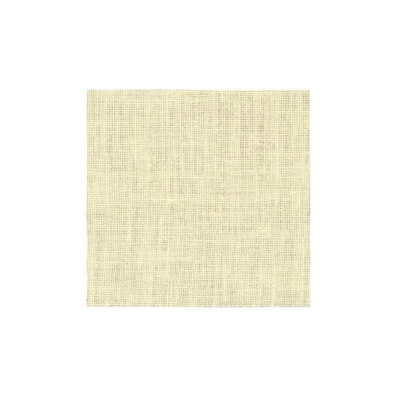 Lin Zweigart Edinburgh 14fils/cm - largeur 140cm - ivoire
