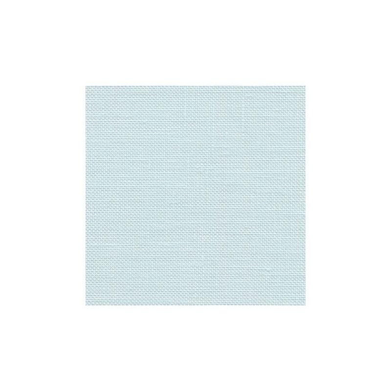 Lin Zweigart Edinburgh 14fils/cm - largeur 140cm - bleu très pâle
