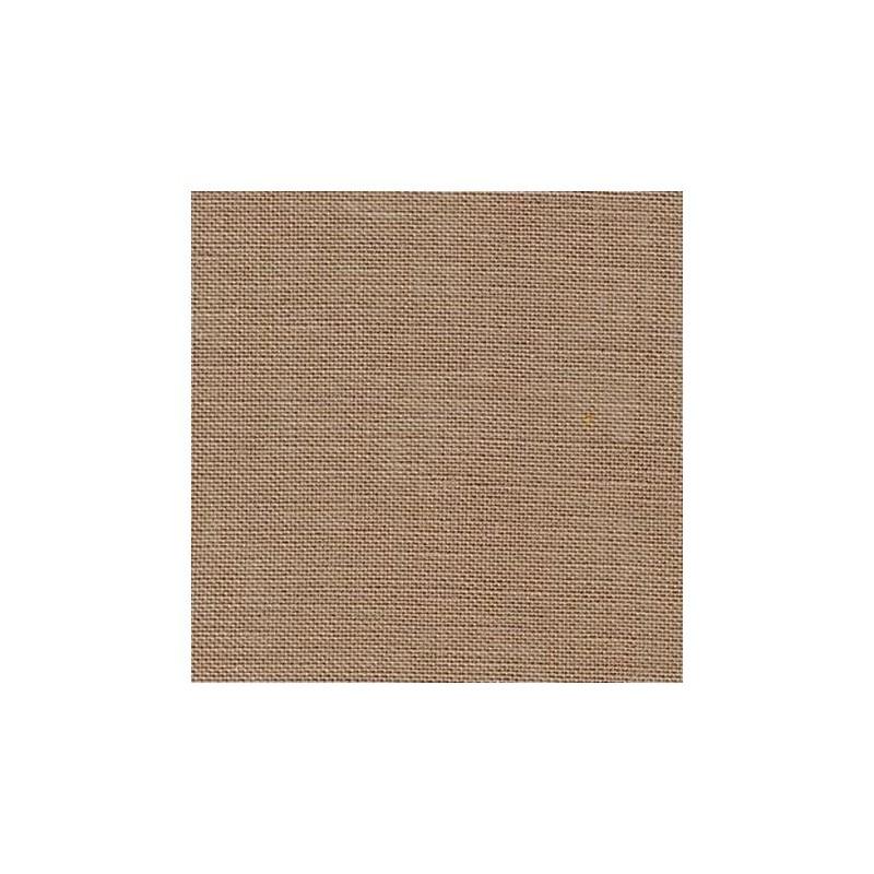 Lin Zweigart Edinburgh 14fils/cm - largeur 140cm - taupe clair