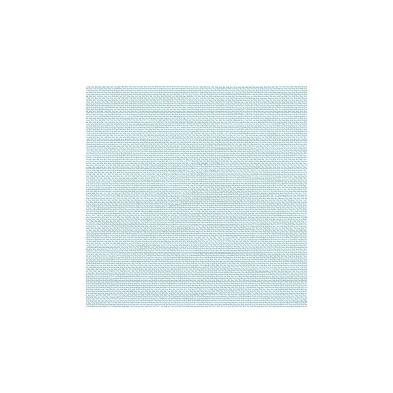 Lin Zweigart Edinburgh 14fils/cm - 35x45cm - bleu très pâle