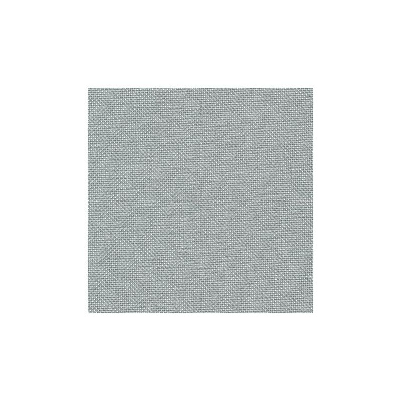 Lin Zweigart Edinburgh 14fils/cm - 35x45cm - gris fumée