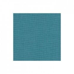 Lin Zweigart Newcastle 16fils/cm - largeur 140cm - bleu lagon
