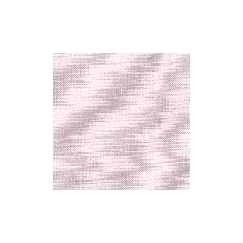 Lin Zweigart Newcastle 16fils/cm - 35x45cm - rose pâle