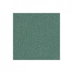 Lin Zweigart Newcastle 16fils/cm - 50x70cm - vert forêt pailleté irisé